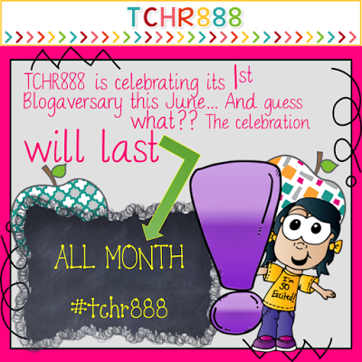 TCHR888 1st Blogaversary and Month Giveaways