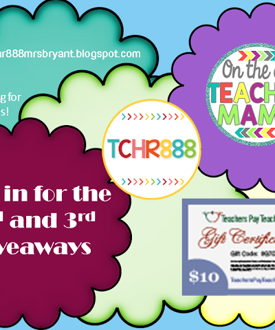 Pop in for the 2nd & 3rd giveaways