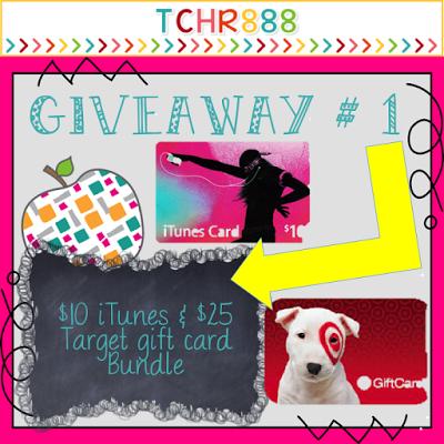 Tchr888 Blogaversary Giveaway #1