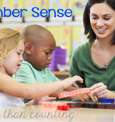 Number Sense: More than just counting and writing numbers