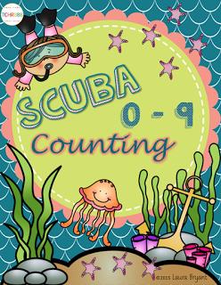 https://www.teacherspayteachers.com/Product/Scuba-Counting-0-9-2005236