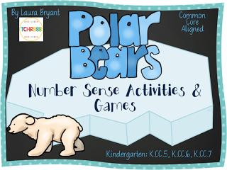 https://www.teacherspayteachers.com/Product/Polar-Bear-Number-Sense-Activities-1624953